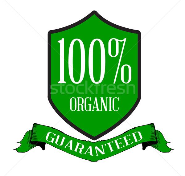 Organic Produce Guaranteed Stock photo © Bigalbaloo