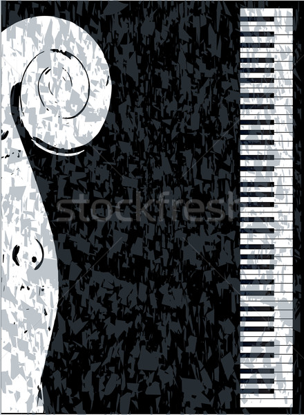 Piano and Violin Stock photo © Bigalbaloo