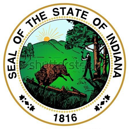 Ohio fóka nagyszerű Egyesült Államok Stock fotó © Bigalbaloo