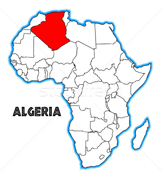 Algeria Stock photo © Bigalbaloo