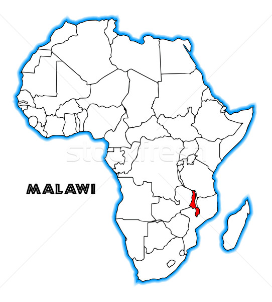 Malawi Stock photo © Bigalbaloo