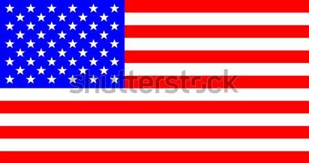 USA gwiazdki banderą Stany Zjednoczone Ameryki Zdjęcia stock © Bigalbaloo