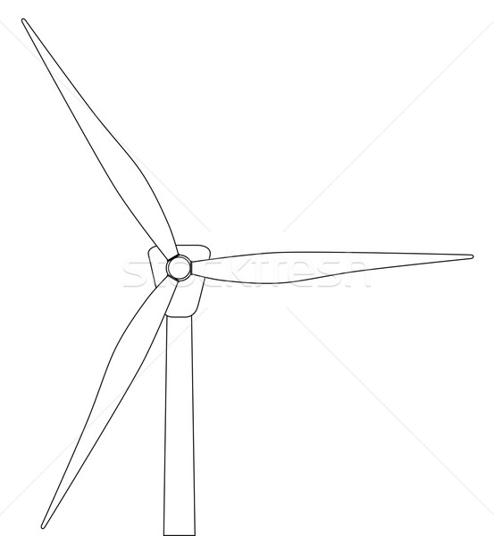 Wind Turbine Stock photo © Bigalbaloo