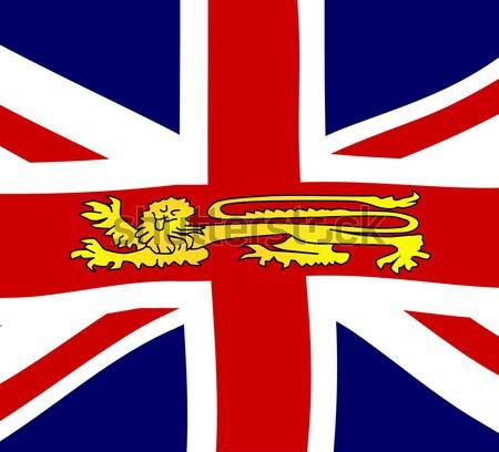 British Shield Emblem Stock photo © Bigalbaloo