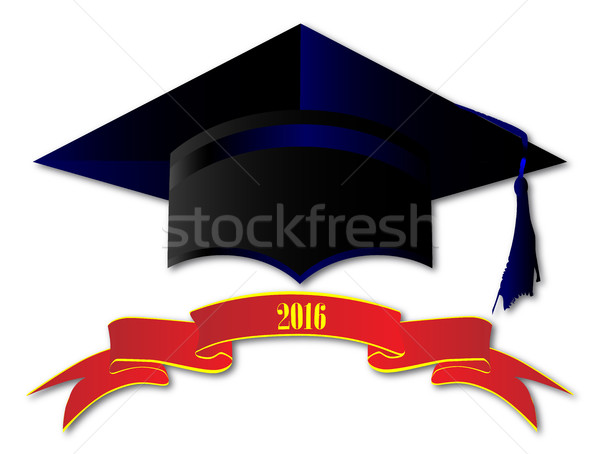 Cap Class Of 2016 Stock photo © Bigalbaloo