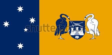 Ausztrál terület zászló illusztráció Stock fotó © Bigalbaloo