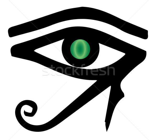 The Eye of Ra Stock photo © Bigalbaloo