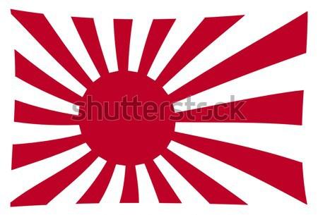 Japanese Flag Stock photo © Bigalbaloo