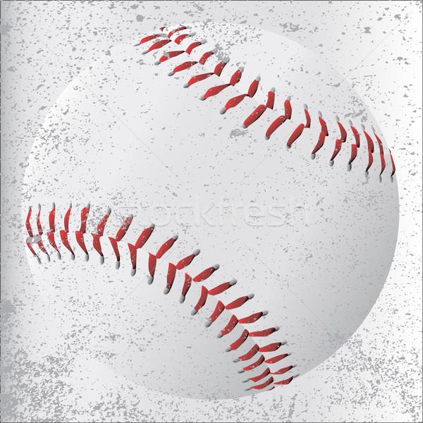 Grunge Baseball Stock photo © Bigalbaloo