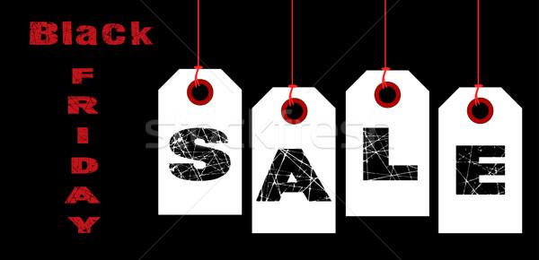 Black friday venda coleção ortografia fora Foto stock © Bigalbaloo