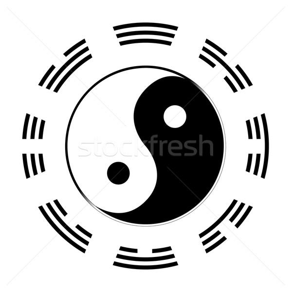 I Ching Stock photo © Bigalbaloo