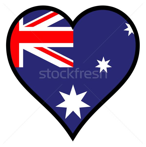 Love Australia Stock photo © Bigalbaloo