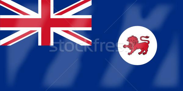 Tasmania bandera país gráfico banner Foto stock © Bigalbaloo