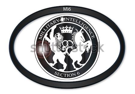 Mi6 Badge Button Stock photo © Bigalbaloo
