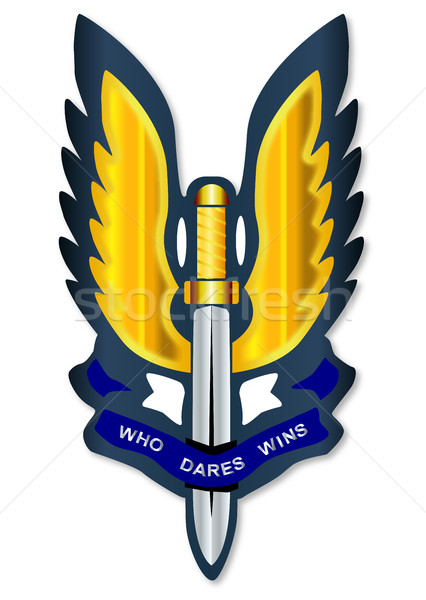 Special Air Service Badge Stock photo © Bigalbaloo