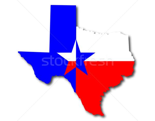 Texan Background Stock photo © Bigalbaloo