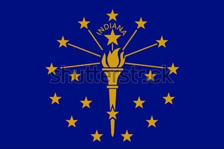 Indians State Flag Stock photo © Bigalbaloo
