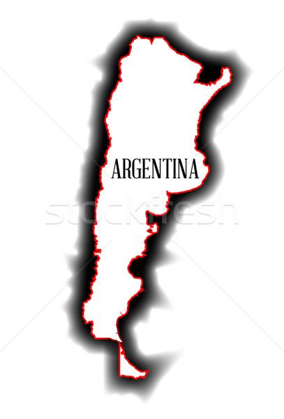 Argentina Stock photo © Bigalbaloo