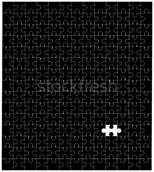 Missing Piece Stock photo © Bigalbaloo