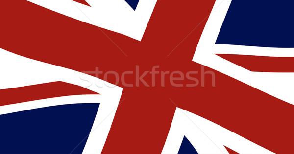 Union Jack Close Up Stock photo © Bigalbaloo