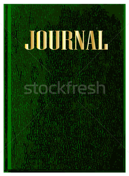 Journal Book Cover Stock photo © Bigalbaloo