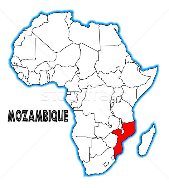 Mozambique Stock photo © Bigalbaloo