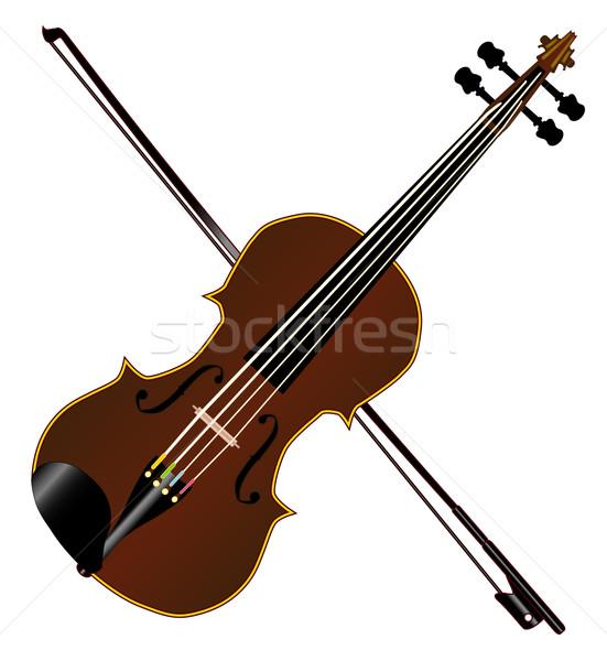 Fiddle Stock photo © Bigalbaloo