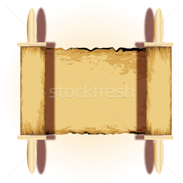 Ancient Religious Scroll Stock photo © Bigalbaloo
