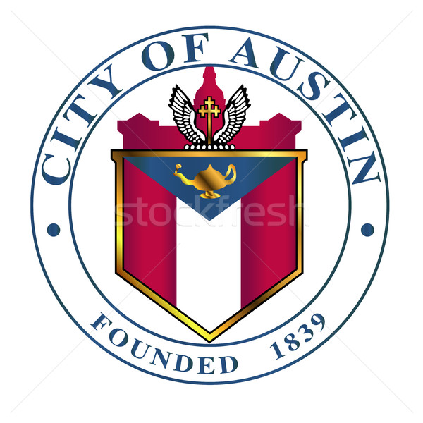 City Of Austin Seal Stock photo © Bigalbaloo