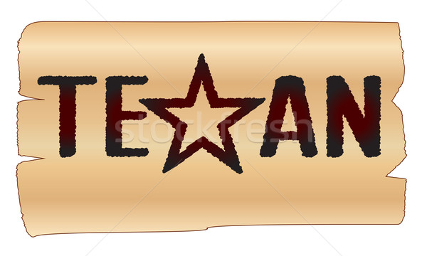 Texan Stock photo © Bigalbaloo