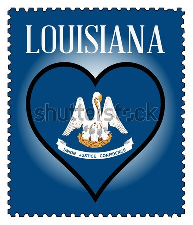 Love Louisiana Stock photo © Bigalbaloo