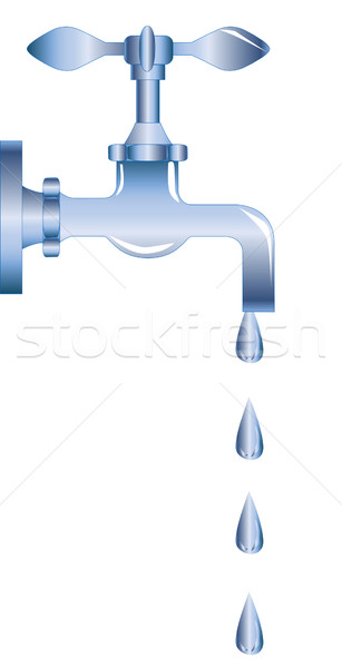 Dripping Tap Stock photo © Bigalbaloo