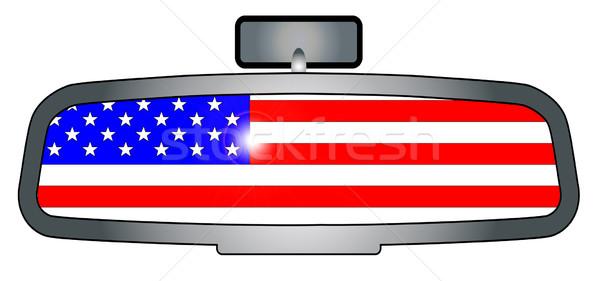 Driving Through America Stock photo © Bigalbaloo