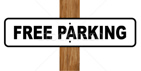Free Parking Sign Stock photo © Bigalbaloo