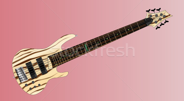 Big Neck Bass Stock photo © Bigalbaloo