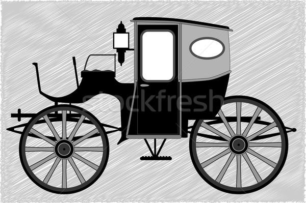 Carriage Stock photo © Bigalbaloo