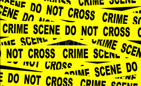 Crime Scene Tape Stock photo © Bigalbaloo