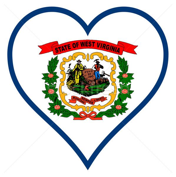 Love West Virginia Stock photo © Bigalbaloo