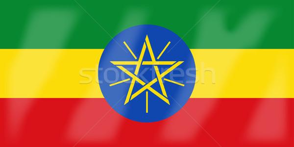 Эритрея флаг африканских стране Африка Сток-фото © Bigalbaloo