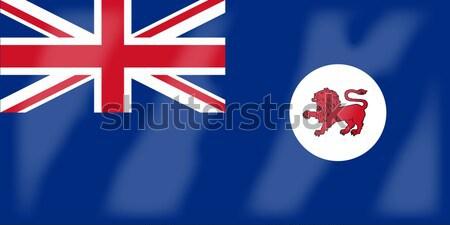 Tasmania State Flag Stock photo © Bigalbaloo