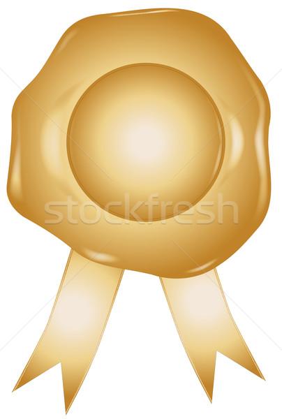Gold Seal Stock photo © Bigalbaloo