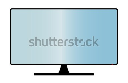 Stock photo: Computer Monitor