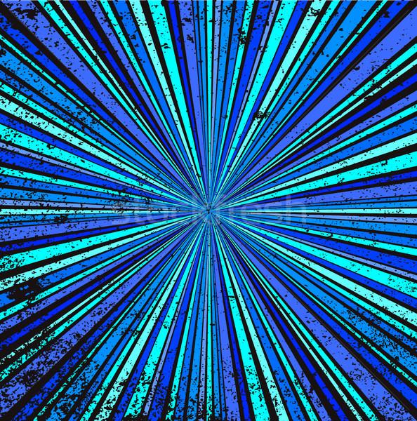 синий ретро Гранж аннотация Blues Сток-фото © Bigalbaloo