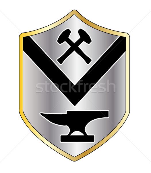 Smith Coat of Arms Stock photo © Bigalbaloo