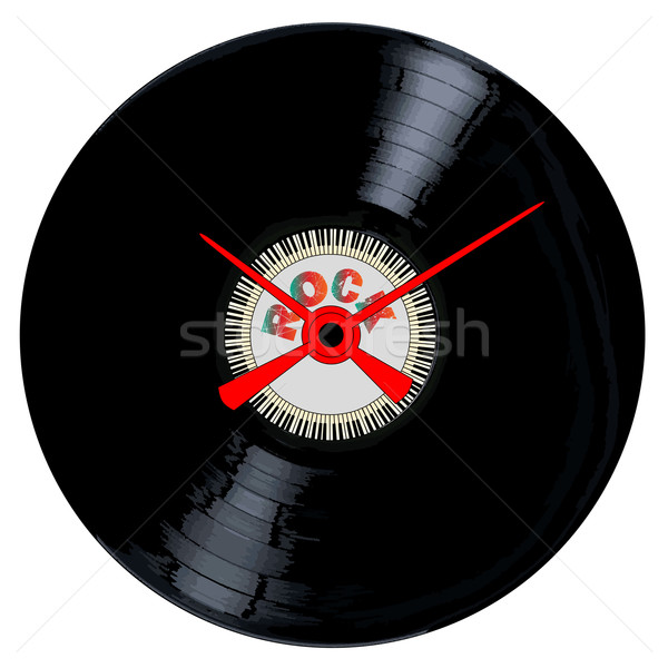 Stockfoto: Rock · record · typisch · lp · vinyl