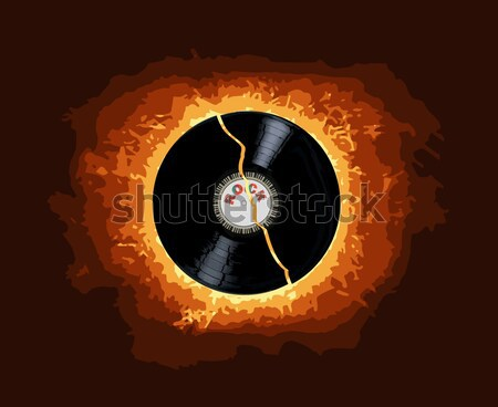 Hot Record Stock photo © Bigalbaloo