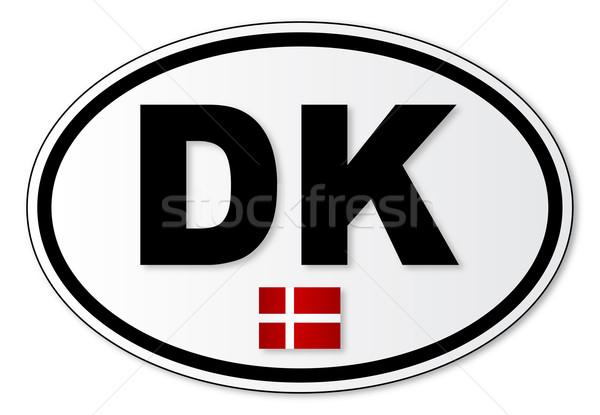 пластина прилагается Дания за границей Сток-фото © Bigalbaloo