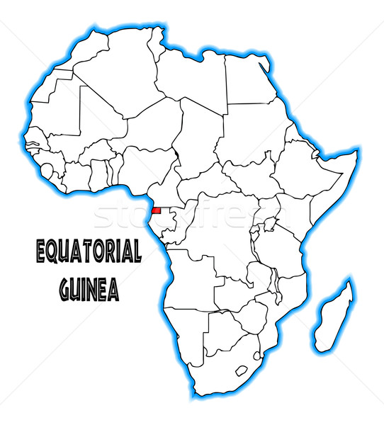 Equatorial Guinea Stock photo © Bigalbaloo
