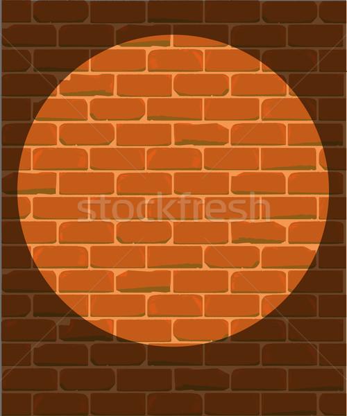 Prison Wall Stock photo © Bigalbaloo