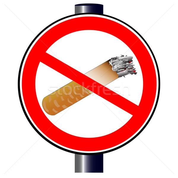 No Smoking Stock photo © Bigalbaloo